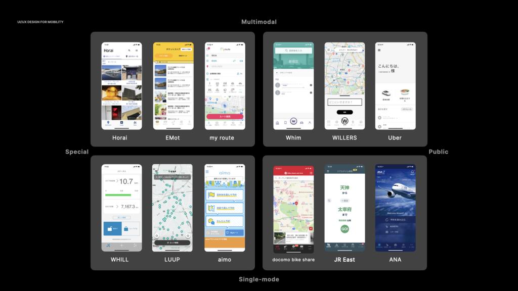 MaaS アプリのデザインガイド